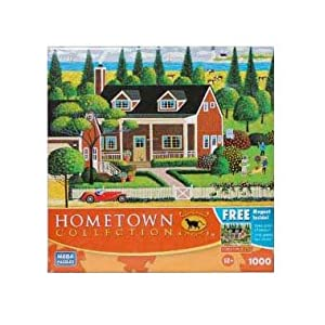 HOMETOWN COLLECTION Tending to the Garden 1000 Piece Puzzle