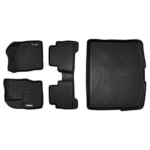 MAXFLOORMAT Floor Mats and MAXTRAY Cargo Liner for Ford Escape (2013-2017) Complete Set (Black) (Cargo Mats For Ford Escape compare prices)