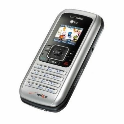 LG enV VX-9900 Silver QWERTY Cell Phone - Mint for Verizon Wireless - No Contract - Refurbished - Brand New Housing - 30 Day Seller's Warranty