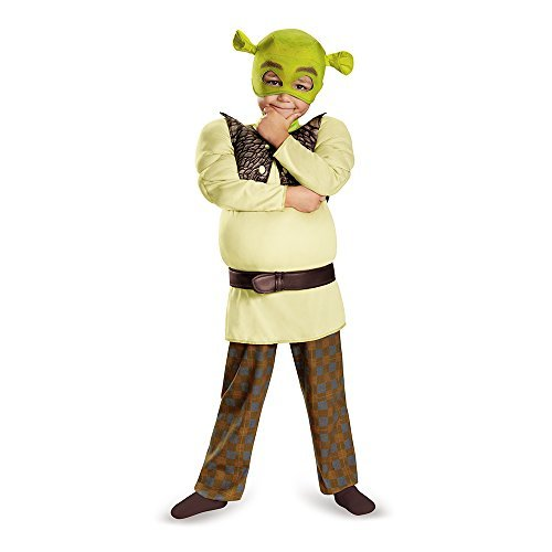 [Disguise Shrek Toddler Muscle Costume, Small (2T) by Disguise] (Shrek Costume For Toddler)