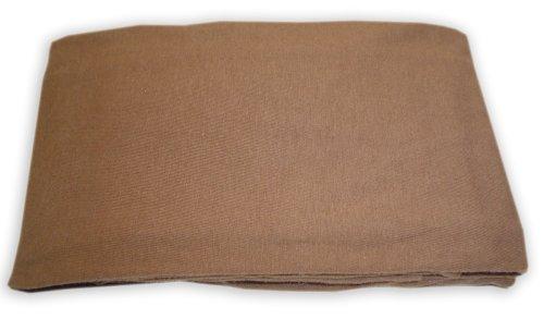 American Baby Company Porta Crib Sheet 100% Cotton Jersey - Chocolate