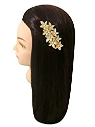 VOGUE Exclusive Collection Golden Color Copper Base Korean Hair Pin Hair Accessories Hair Clip