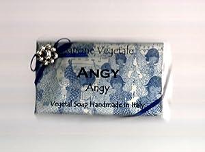 Alchimia Ladybug Natural Handmade 10.6 Oz. Soap Bar From Italy, Scent 'Angy'
