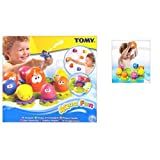 Tomy Aqua Fun Octopals Age 12m Gifts, and, Cards Baby, Toys Occasion, Gift, Idea