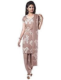NITARA Women's Cotton Stitched Salwar Suit Sets - B01AJK7YRC