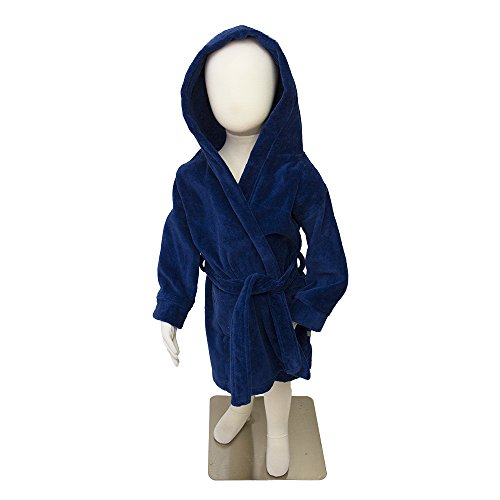 Frencie Mini Couture Baby Jungen (0-24 Monate) Bademantel marineblau Größe L