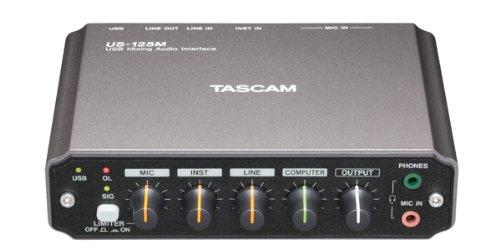 ティアック ミキサー機能付USBオーディオインターフェース US-125M