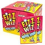 Fizz Wizz Superloud Popping Candy Cherry Pack of 50