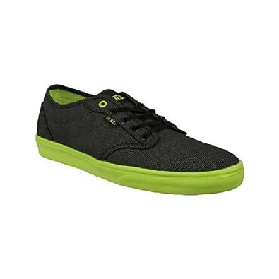 Vans Mens Atwood Lite Trainers Black/LimeGreen 9
