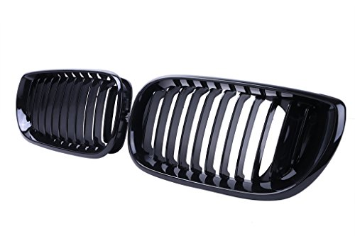 Jade Onlines Gloss Black Front Center Kidney Grille Grilles Grill Hood for BMW 2002-2005 E46 4D LCI Facelift (Front Grill Bmw 325i 2004 compare prices)