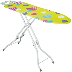 Rayen 6054 - Tabla de planchar plegable, con altura de las patas regulable, 120 x 38.84 x 38 x 10 cm, multicolor