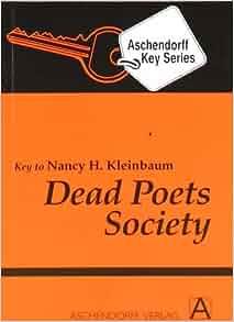 dead poets society book pdf
