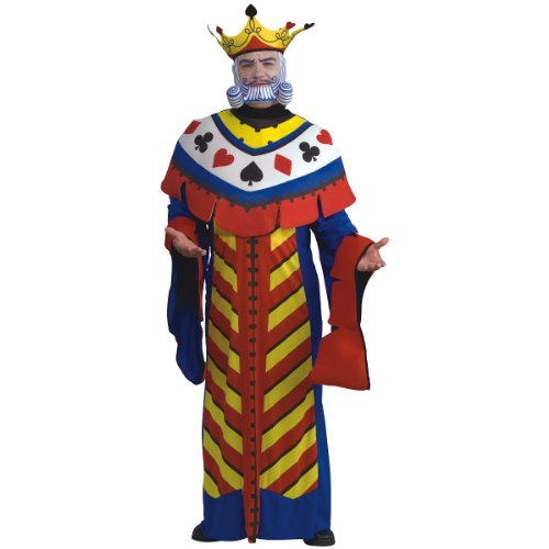 Playing Card King Costume - Standard - Chest Size 40-44