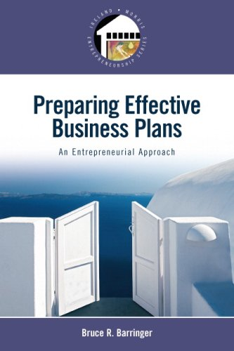 Preparing Effective Business Plans: An Entrepreneurial...