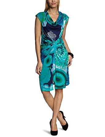 Desigual Vest Azucena Wrap Women's Dress Midnight Size 8