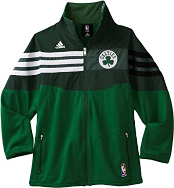 NBA Boston Celtics On Court Full Zip Jacket - R289Nvce Youth by adidas