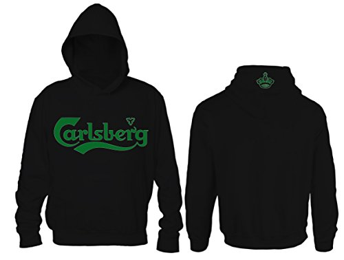 Felpa Carlsberg Unofficial (L, Nero)