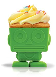 Fred and Friends Yumbots Robot Baking Cups, Set of 3