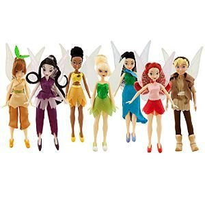 Click to buy Disney Fairies Dolls Collector Pack -- 7-Pc from Amazon!