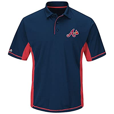 "Atlanta Braves Majestic MLB ""Top of the Inning"" Men's Performance Polo Shirt"