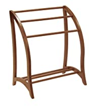 Winsome Wood Blanket Rack, Antique Wa…