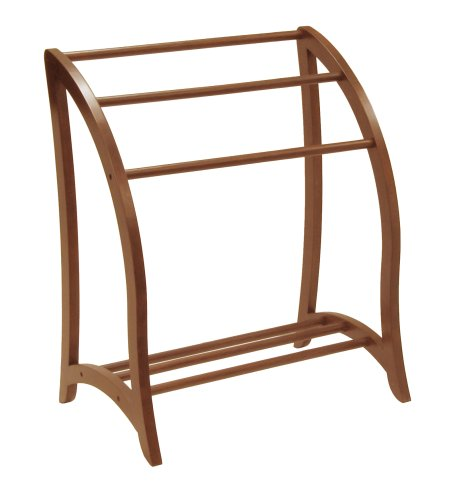 Why Choose Winsome Wood Blanket Rack, Antique Walnut