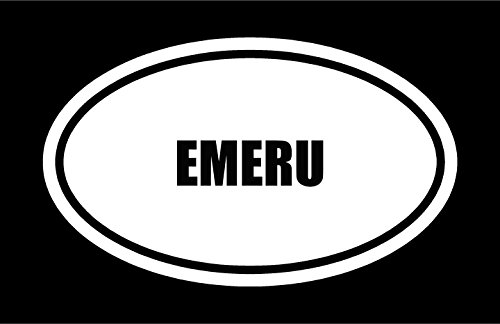 6-die-cut-white-vinyl-emeru-name-oval-euro-style-vinyl-decal-sticker