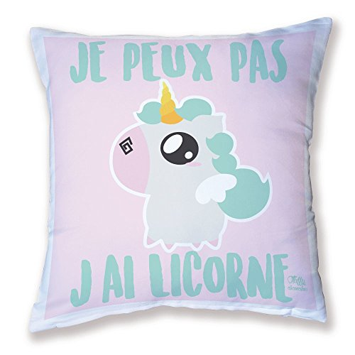 Coussin-Dcoration-Je-peux-pas-jai-Licorne-chibi-kawaii-et-pastel-by-Fluffy-chamalow-Fabriqu-en-France-Licence-officelle-Chamalow-Shop