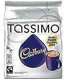 Tassimo Cadbury Boisson Arôme Cacao, Lot de 5, 5 x 16 T-Discs (40 Portions)