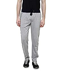 Crux&hunter Men's Trackpant (AMZ_ZJ_211_Grey_34)
