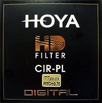 Hoya 77mm HD Hardened Glass 8-layer Multi-Coated Circular Polarizing Filter
