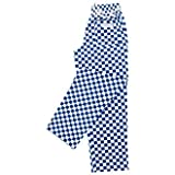 Easyfit Pants-Big Blue Check Sz. M 100% Cotton Sz. M 34-36