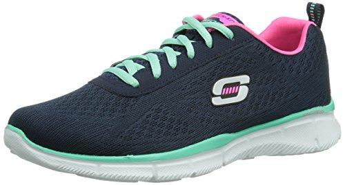 Skechers EqualizerTrue Form, Sneaker Donna, Blu (Blau (NVAQ), 37