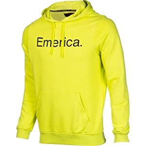 Emerica Herren Pullover Hood Pure Solid, lime, L, 6130001569