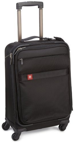Victorinox Avolve 22 Expandable Wheeled Carry On, Black, 22 best buy
