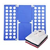 from Accenter Adult Magic Clothes Tshirts Folder Organizer Flip Fold Model Relaxdays 368061