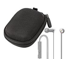 buy Duragadget Hard Eva Protective Storage Case / Bag For Earphones In Black For Sony Xba-3 & Sony Sbh70 Stereo Bluetooth Headset