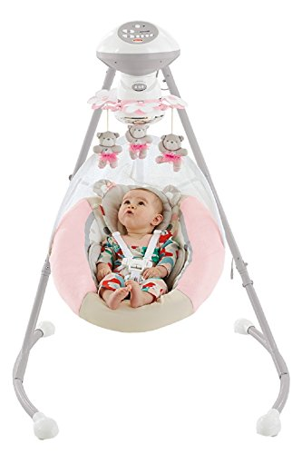Fisher-Price My Little Snugabear Ballerina Cradle 'N Swing