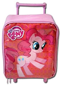 "My Little Pony 11"" Mini Toddler Pre-school Rolling Backpack"