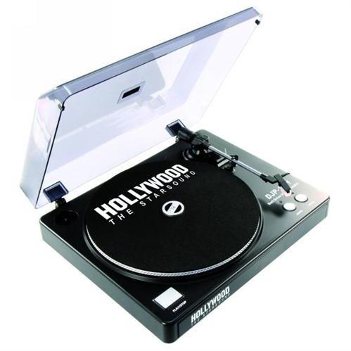 Ett DJ USB Plattenspieler Vorverstärker Anschluss Riemenantrieb Platten digitalisieren DJP-1011