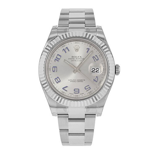 new-rolex-datejust-ii-41mm-18k-white-gold-bezel-stainless-steel-grey-dial-mens-watch-116334-gao-by-r