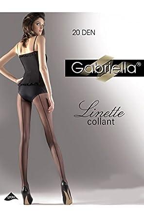 Gabriella Femmes Collants GB-116 20 DEN (Beige, 2 (32-36))