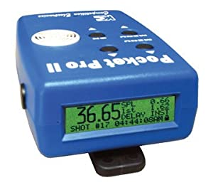 Competition Electronics Pocket Pro II Timer Blue [Misc.] [Misc.] by Competition Electronics