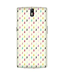 Pussy Cat Back Cover Case for OnePlus One