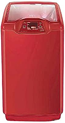 Godrej WTEon650PFD Fully-automatic Top-loading Washing Machine (6.5 Kg, Metallic Red)