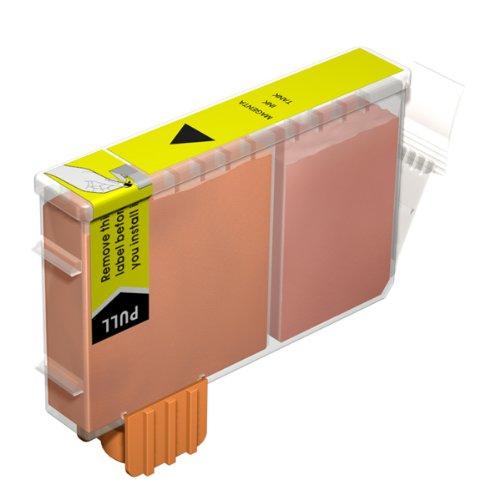 1x Kompatible Druckerpatrone - Ersatz für BCI-6Y / BCI-3EY - Gelb- Hohe Kapazität - Canon BJC-3000 BJC-6000 BJC-6100 BJC-6200 BJC-6500 BJC-8200 BJI-6500 BJI-9100 I550 I550X i560 I560X I6500 I850 I860 i865 i905D i9100 i950 i965 i990 i9950 MPC400 MPC600F MP-F50 MP-F60 MP-F80 S400 S400X S450 S4500 S500 S520 S530d S600 S630 S6300 S750 S800 S820 S820d S830D S900 S9000 Imageclass MP700 Photo MP730 MPC100 MultiPass C150 Pixma iP3000 iP4000R MP750 MP760 Smartbase MP780