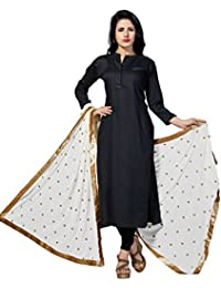 Rani Saahiba Embroidered Chiffon Dupatta With Golden Lace