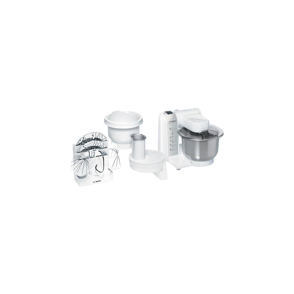Bosch MUM4835 Küchenmaschine / 600 Watt / Edelstahl Rührschüssel on ...