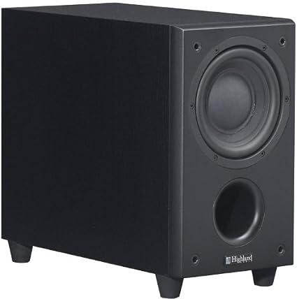 Caisson de Basse Highland Audio Dord 165 Noir