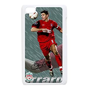 Liverpool Steven Gerrard Cool iPod Touch 4th Generation Hard Plastic Case by custom wonderland